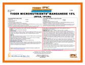 Manganese 15% Tiger Micronutrient Granular 50 lb