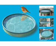 3-In-1 Heated Birdbath - Green