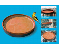 3-In-1 Heated Bird Bath - Terra Cotta/Black