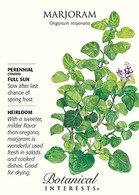 Marjoram HEIRLOOM Seeds
