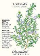 Rosemary HEIRLOOM Seeds