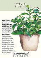 Stevia Organic HEIRLOOM Seeds