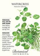 Watercress HEIRLOOM Seeds