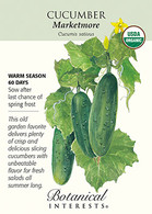 Cucumber Marketmore Organic Seeds