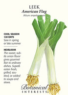 Leek American Flag HEIRLOOM Seeds