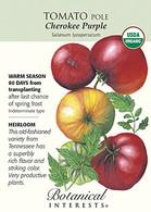 Tomato Pole Cherokee Purple Organic HEIRLOOM Seeds