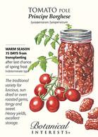 Tomato Pole Principe Borghese HEIRLOOM Seeds