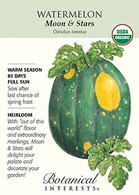 Watermelon Moon & Stars Organic HEIRLOOM Seeds