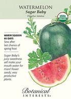 Watermelon Sugar Baby Organic Seeds