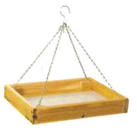 Stovall - Hanging Small Feeder Tray with Perforated Plastic Floor