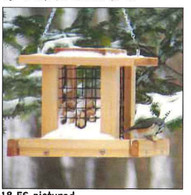 Stovall - Small Blue Jay Whole Peanut Feeder