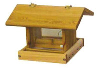 Stovall - Small Haning Hopper with Perforated Plastic Bottom