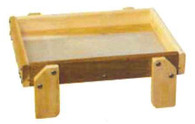Stovall Small Ground Feeder Tray with Perferated Plastic Floor