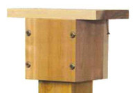 Stovall - 4 x 4 Cedar Cap