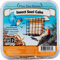 Pine Tree Farms 12 oz. Insect Suet Cakes (12/case)