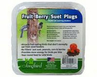 Songbird Essentials 9.4 oz. Fruit Berry Suet Plugs