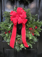 Fresh, Handmade Wreath