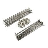 """Spoke Set Front Stainless Steel 21"""" XT600-'89, XT600Z-'90, XTZ660"""