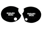 "Side Panel Decal Set XT500 77 (76-79) Black ""Enduro 500"""