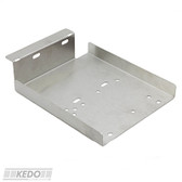 Battery Tray Brushed Stainless Steel