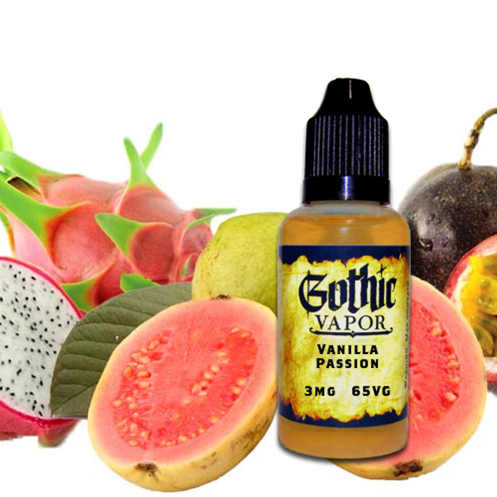 Orange, Guava, Passion fruit eliquid
