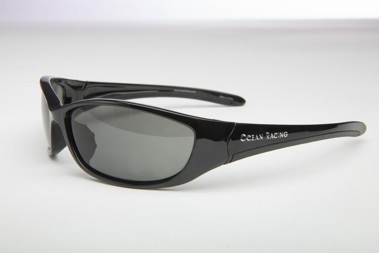 Transpac Black Polarized Sunglasses