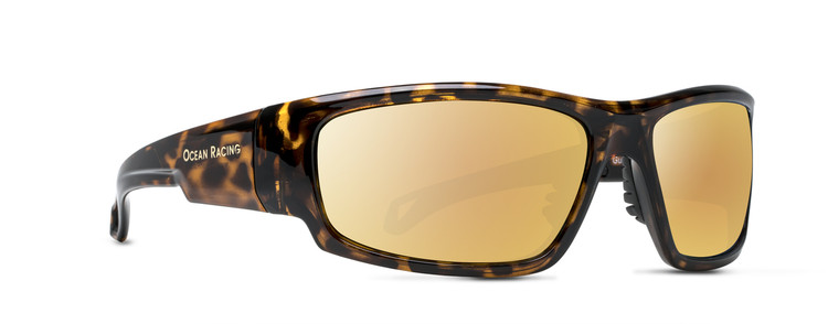 Gulfstream Tortoise & Gold Mirror Polarized Lenses