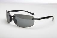2.0 Newport Black Sun-Reader Polarized Sunglasses