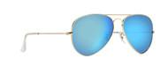 58mm Blue Mirror Aviator