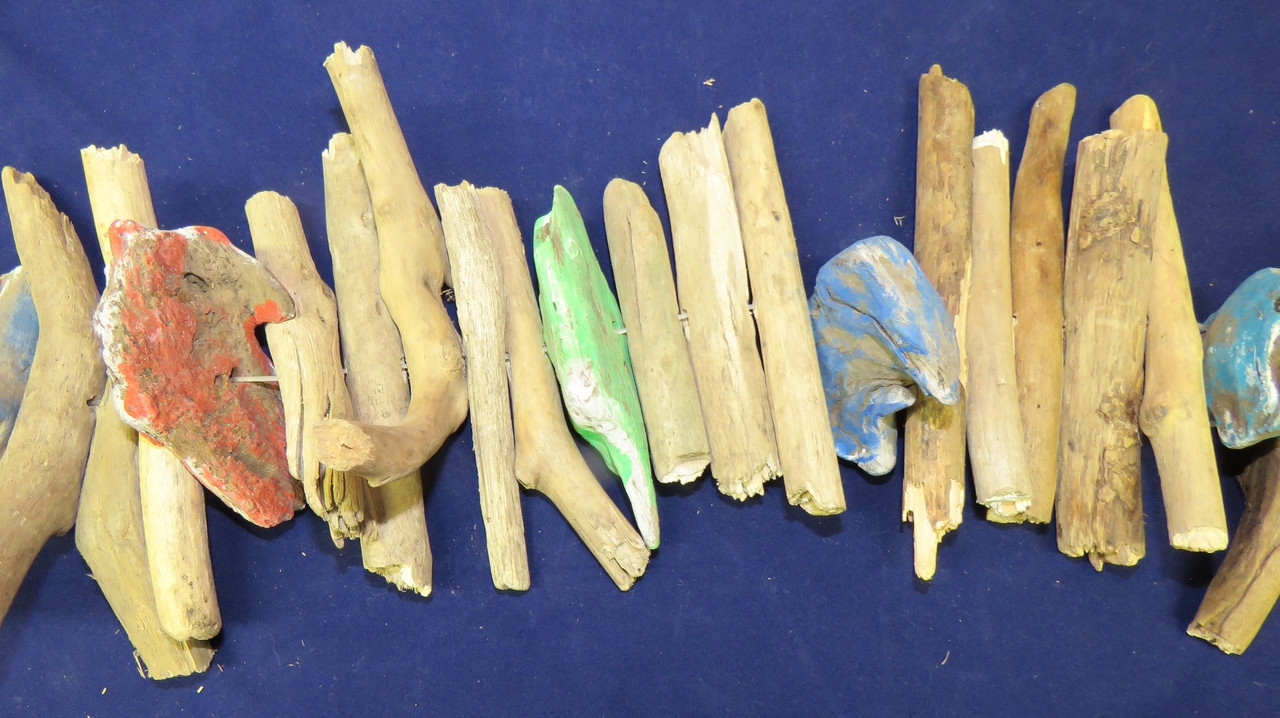 Driftwood Christmas Garland Outer Banks Beach Decor