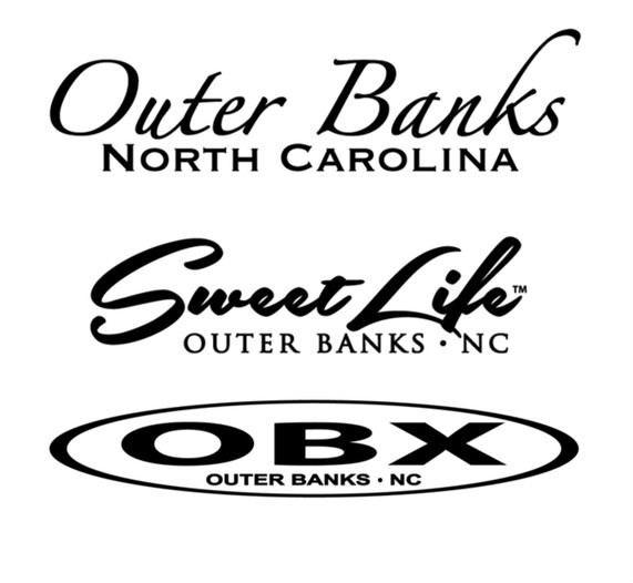 Outer Banks Sweet Life OBX Logos