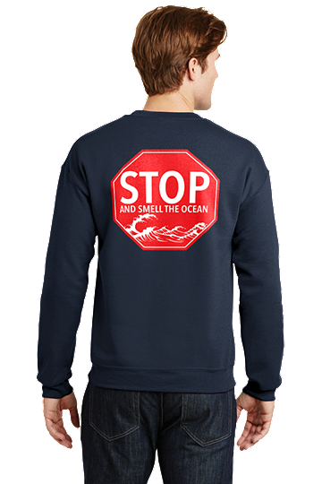 Outer Banks OBX Stop and Smell the Ocean Sweatshirt