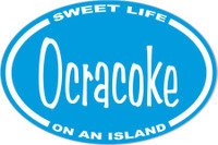 Ocracoke Sweet Life Sticker Decal