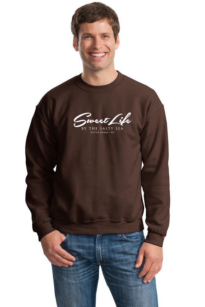 Sweat Shirt shown in Chocolate