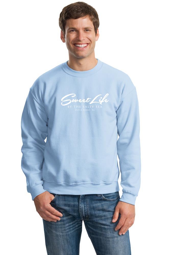 Sweat Shirt shown in Light Blue