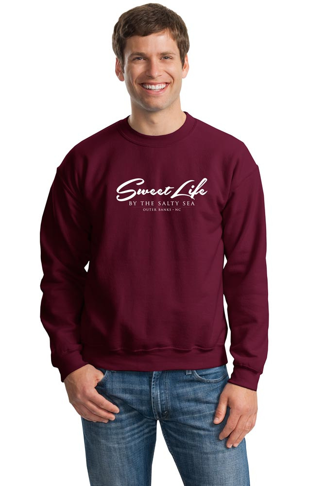 Sweat Shirt shown in Maroon