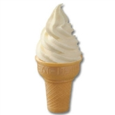 Soft Serve Vanilla Ice Cream