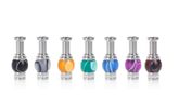510 Stainless Steel Acrylic Drip Tip | VapeKing