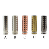 510 Stainless Steel Dimpled Drip Tip | VapeKing
