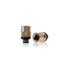 510 Brass Air Flow Control Drip Tip | VapeKing