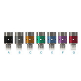 510 SS + Aluminium Adjustable Airflow Tip | VapeKing