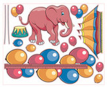 Circus Theme Decal Kit