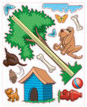 Puppy Theme Decal Kit