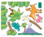 Dinosaur Theme Decal Kit