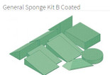 General Sponge Kit B Coated - YSGB