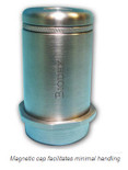 NEW! Tungsten Vial Shield with Magnetic Cap