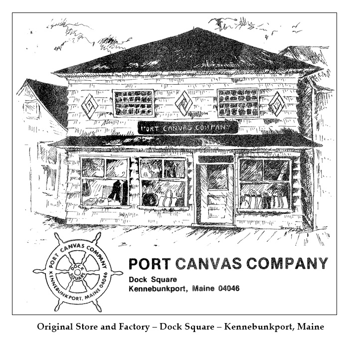 Original Port Canvas Store and Factory, Kennebunkport, Maine