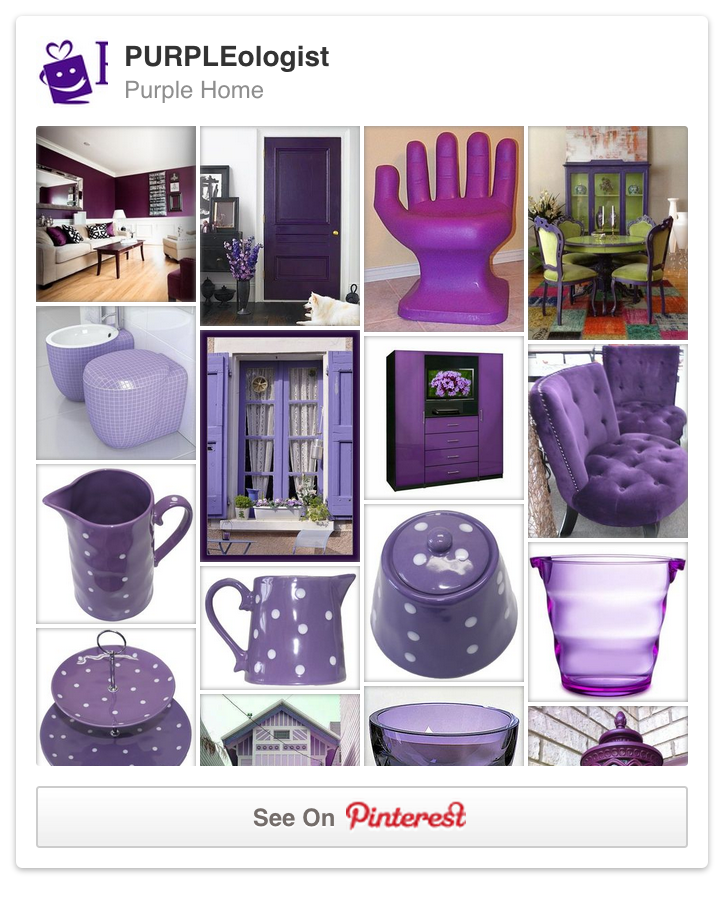 Purple decor tips tricks for your home purpleologist Home decor pinterest boards to follow