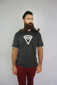Incredibeard Logo Tee - Charcoal Heather