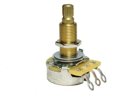CTS 250K Long Split Shaft Audio Pot